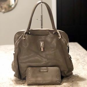 Marc Jacobs Leather Paradise Rio Satchel & Wallet